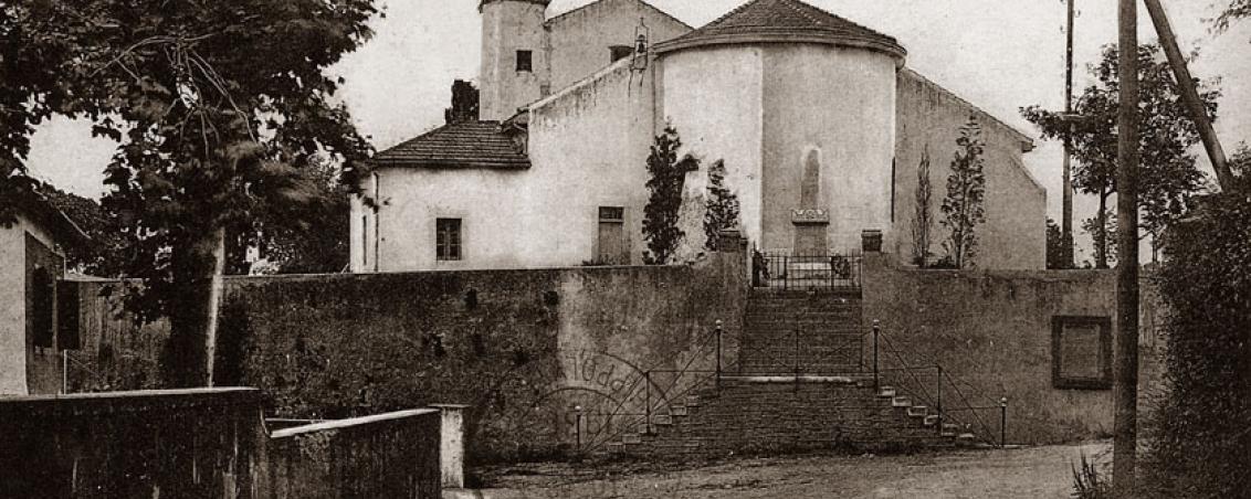 Eglise du Bourg au début du XXème siècle
