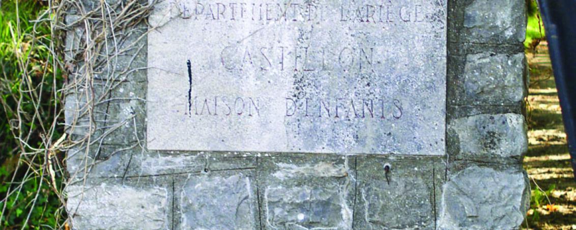 Portail d'entrée du domaine de Castillon - « Département de l'Ariège – Castillon - maison d'enfants ». 2006, Ville de Tarnos