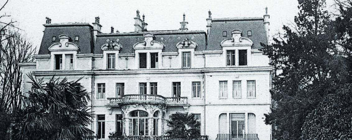 Château de Castillon, façace du Midi. Années 1940, Ville de Tarnos