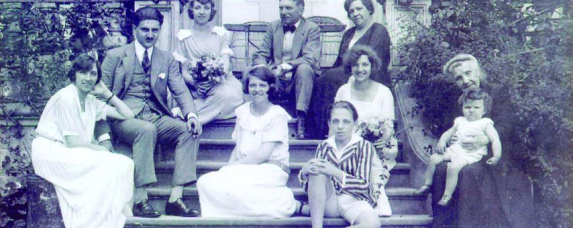 Famille de Jean-Ernest Labrouche. Années 1920, Prêt de Madame de Clisson