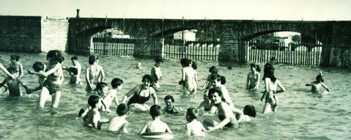 Le jeu du foulard, version aquatique, dans les eaux de l'Adour