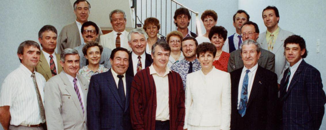 Conseil municipal de 1991. Ville de Tarnos