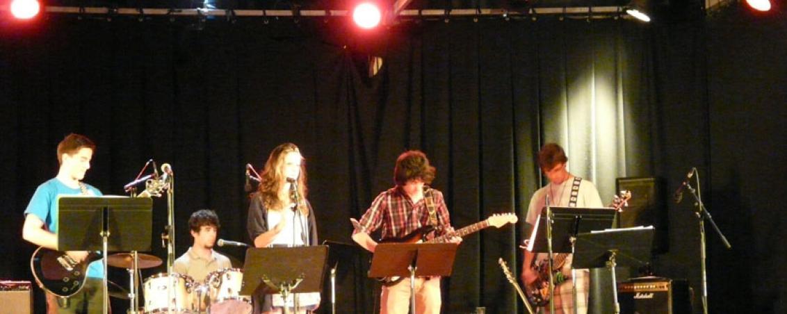Concert jeune ados de l'école de musique, 2012