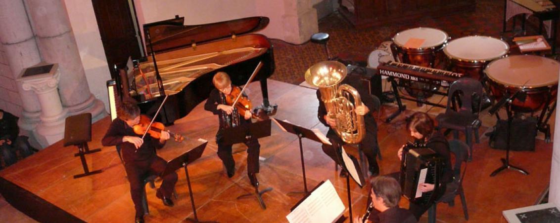 Concert donné par les professeur de l'école de musique, 2010