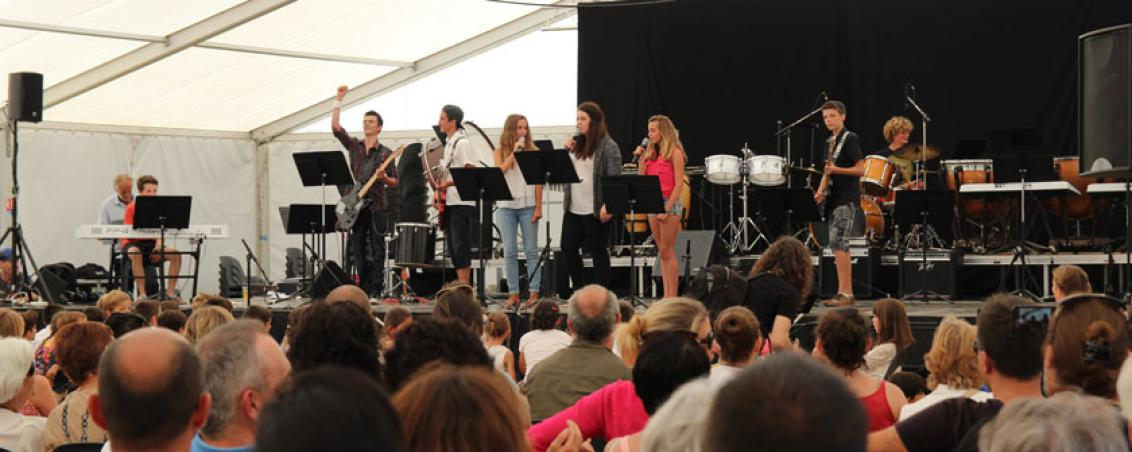 Concert de l'école de musique, 2015.
