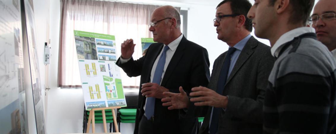 Alain Rousset, Président du Conseil régional, en décembre 2015. Crédit photo Ville de Tarnos