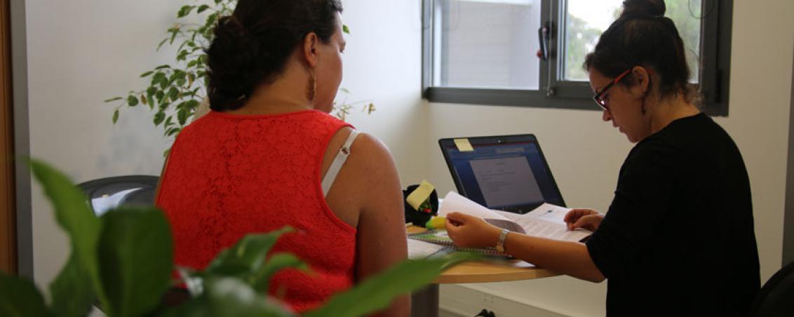 Un centre actif et dynamique qui cherche des idées novatrices. L'ESS aide aussi à la création d'activité et cherche des formations qui correspondent au nouveaux besoins des entreprises. Ici, le PLIE (Plan Local d'Insertion pour l'Emploi).