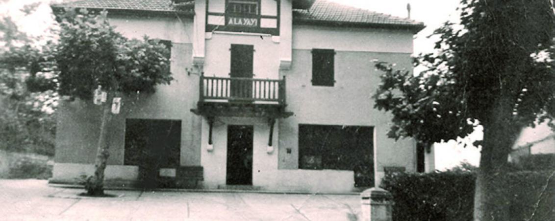 La maison « laYayi » au début des années 1950, Ville de Tarnos