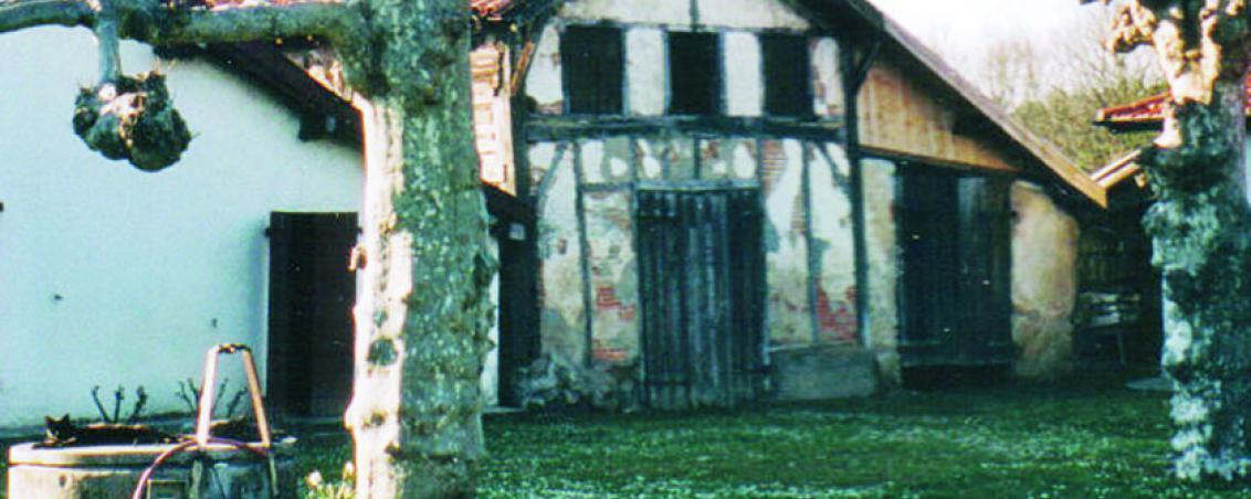 La ferme « Artigau » dans les années 1950, Ville de Tarnos