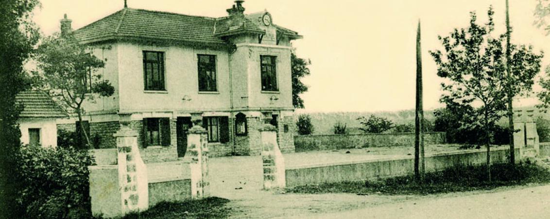 L'Hôtel de Ville en 1920, Ville de Tarnos