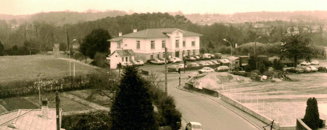 L'Hôtel de Ville en 1980, Ville de Tarnos
