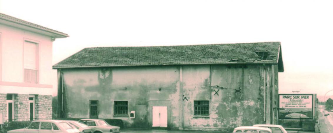 La salle des fêtes avant sa démolition en 1982, Ville de Tarnos