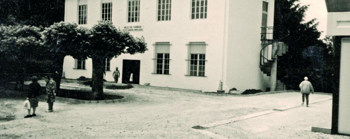 Le centre municipal Henri Dauga au milieu des années 1980, Ville de Tarnos