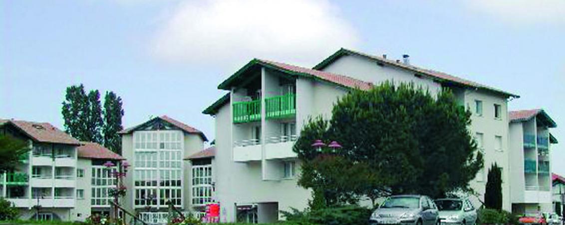 La place Dous Haous en 2010, Ville de Tarnos