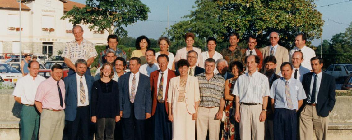 Conseil Municipal de 1995. Ville de Tarnos