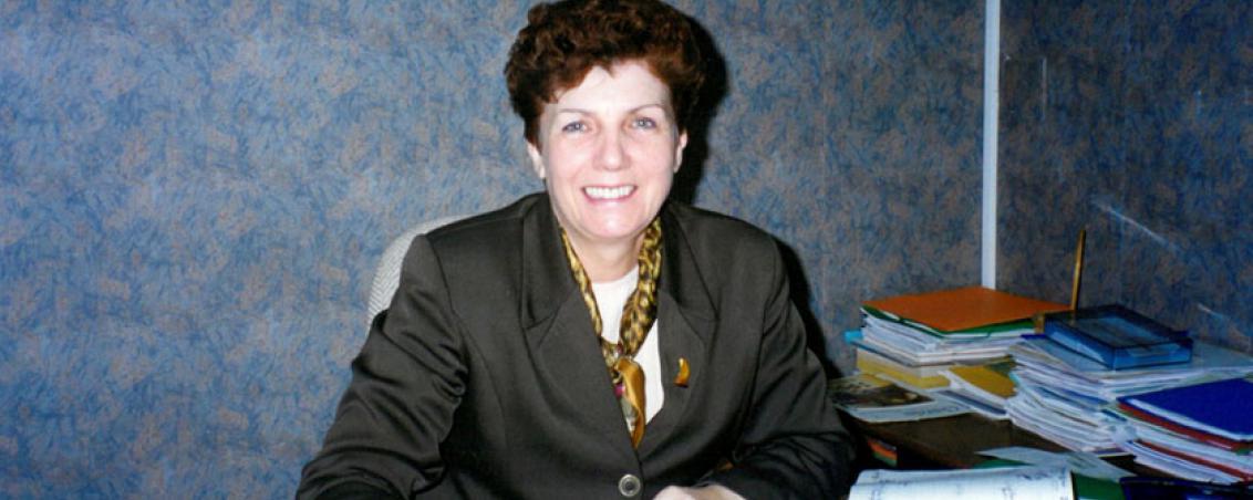 Pierrette Fontenas en 1999. Ville de Tarnos
