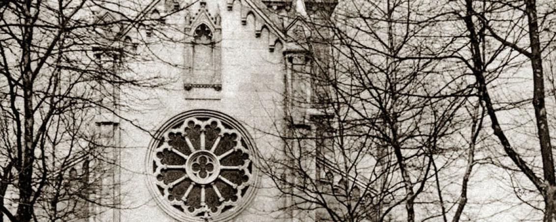 Vue de face de l'Église