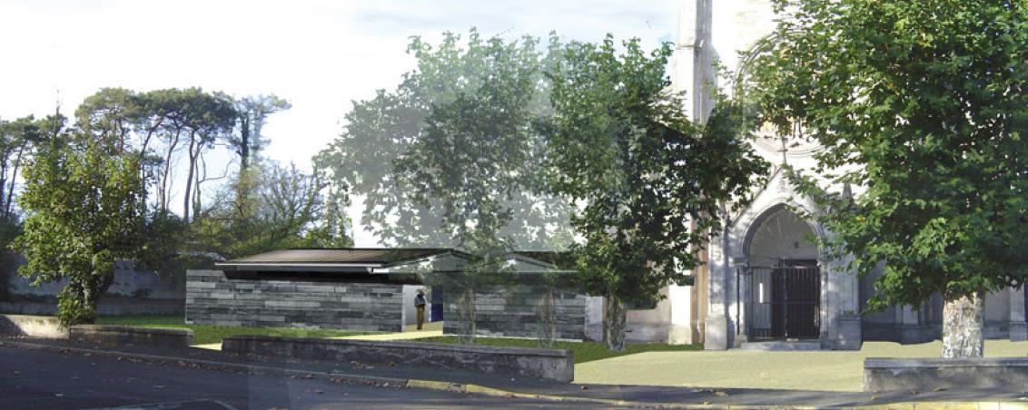 Projet de restauration et d'aménagement du site de Notre Dame des Forges. 2008, Cabinet Soriano/Ville de Tarnos