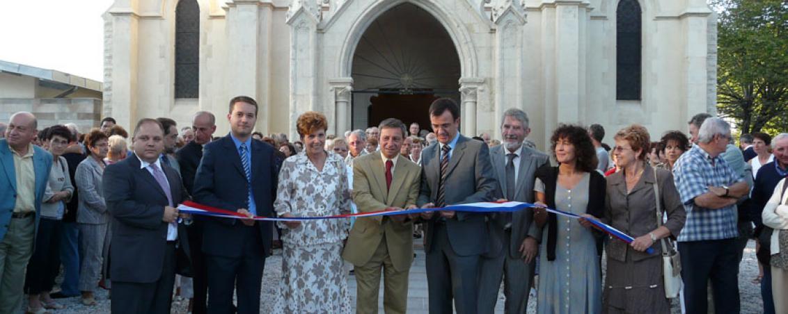 Inauguration de l'Église des Forges, sept. 2008, Ville de Tarnos