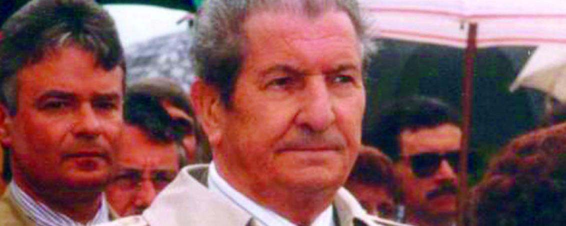 André Maye en 1985. Ville de Tarnos