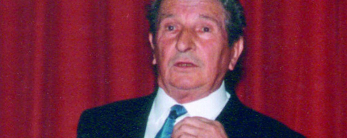 André Maye lors de l'investiture de Pierrette Fontenas. 1991, Ville de Tarnos