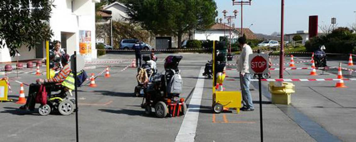 prévention routière à mobilité réduite