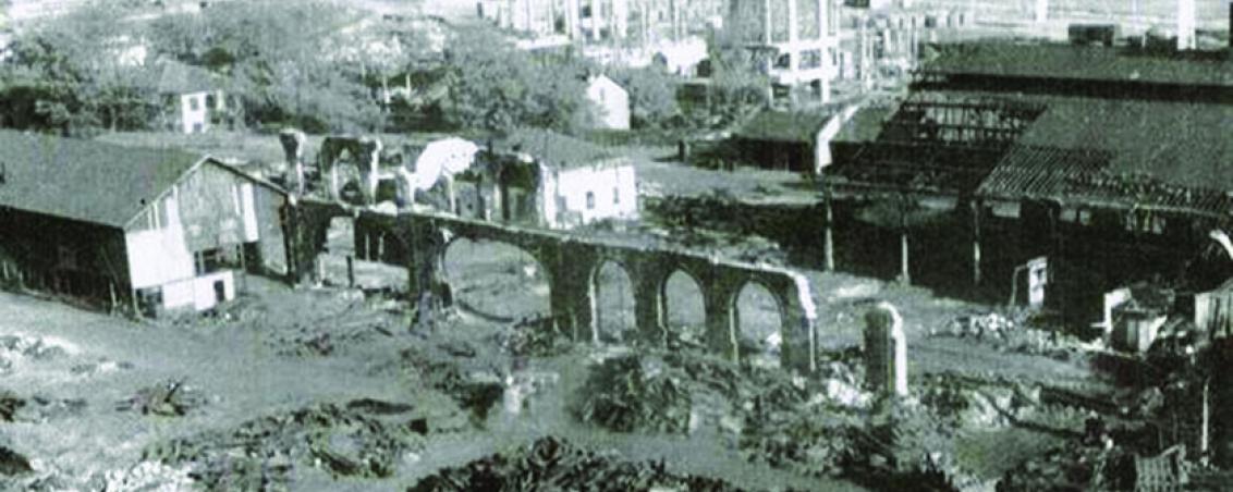 Vestiges du site des Forges de l'Adour. Sans date, Ville de Tarnos