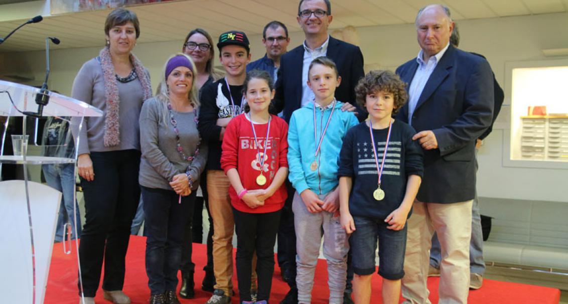 Cérémonie des médailles sportifs Tarnosiens