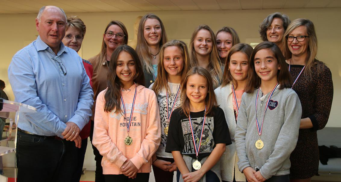 Cérémonie des médailles sportifs Tarnosiens 2016