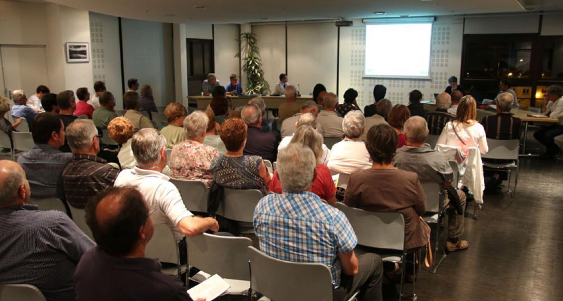 Les premières grandes orientations du projet ont été présentées lors d'une réunion publique le 17 octobre 2014.